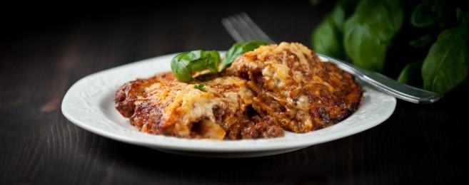Lasagnen pikaversio eli lasagnette