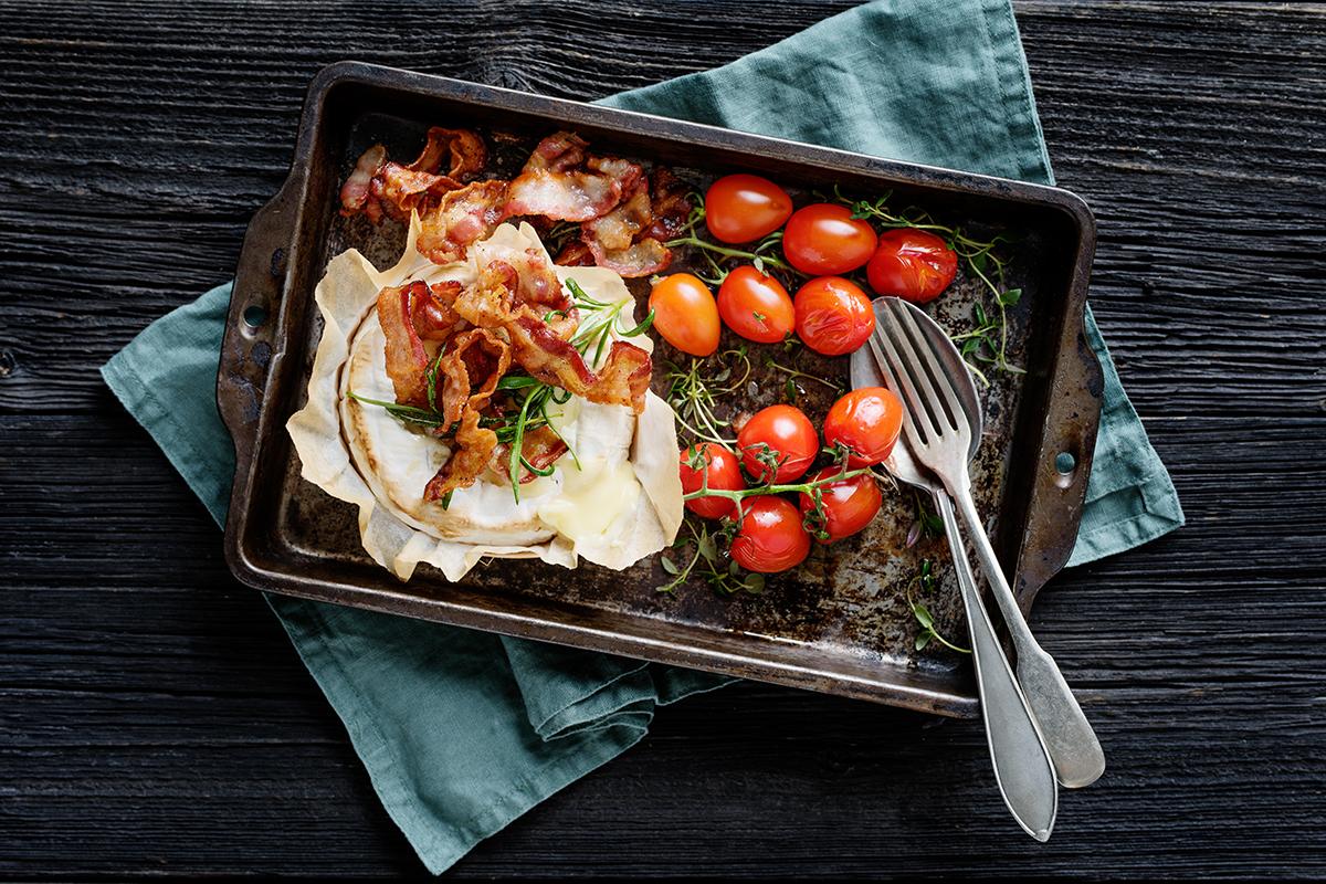 Bacon och vitmögelost 1
