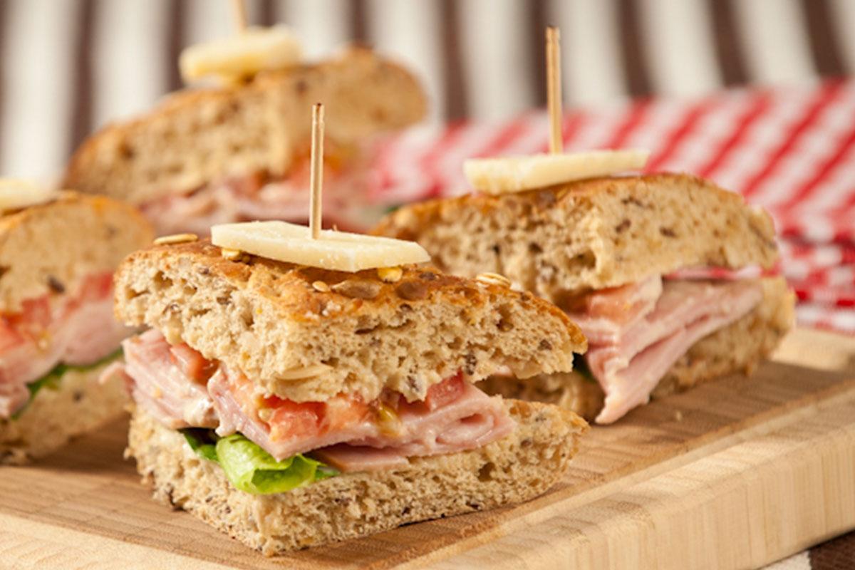 Caesar Sandwich 1
