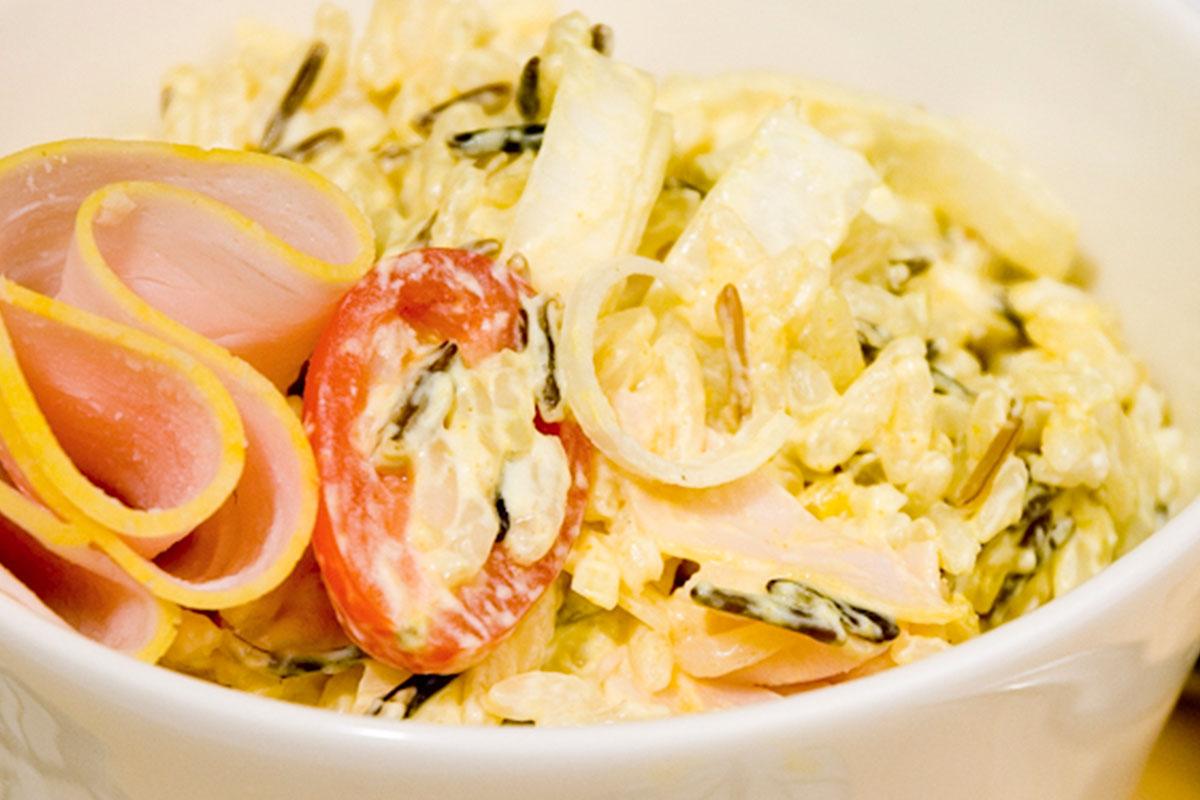 Currykalkkuna-salaatti 1