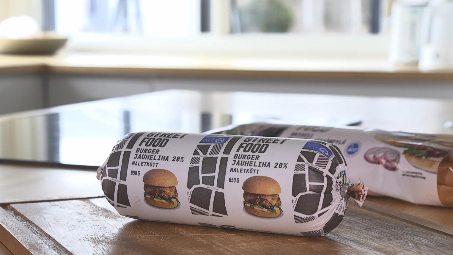 Hampurilaispihvit helposti burgerjauhelihasta 1