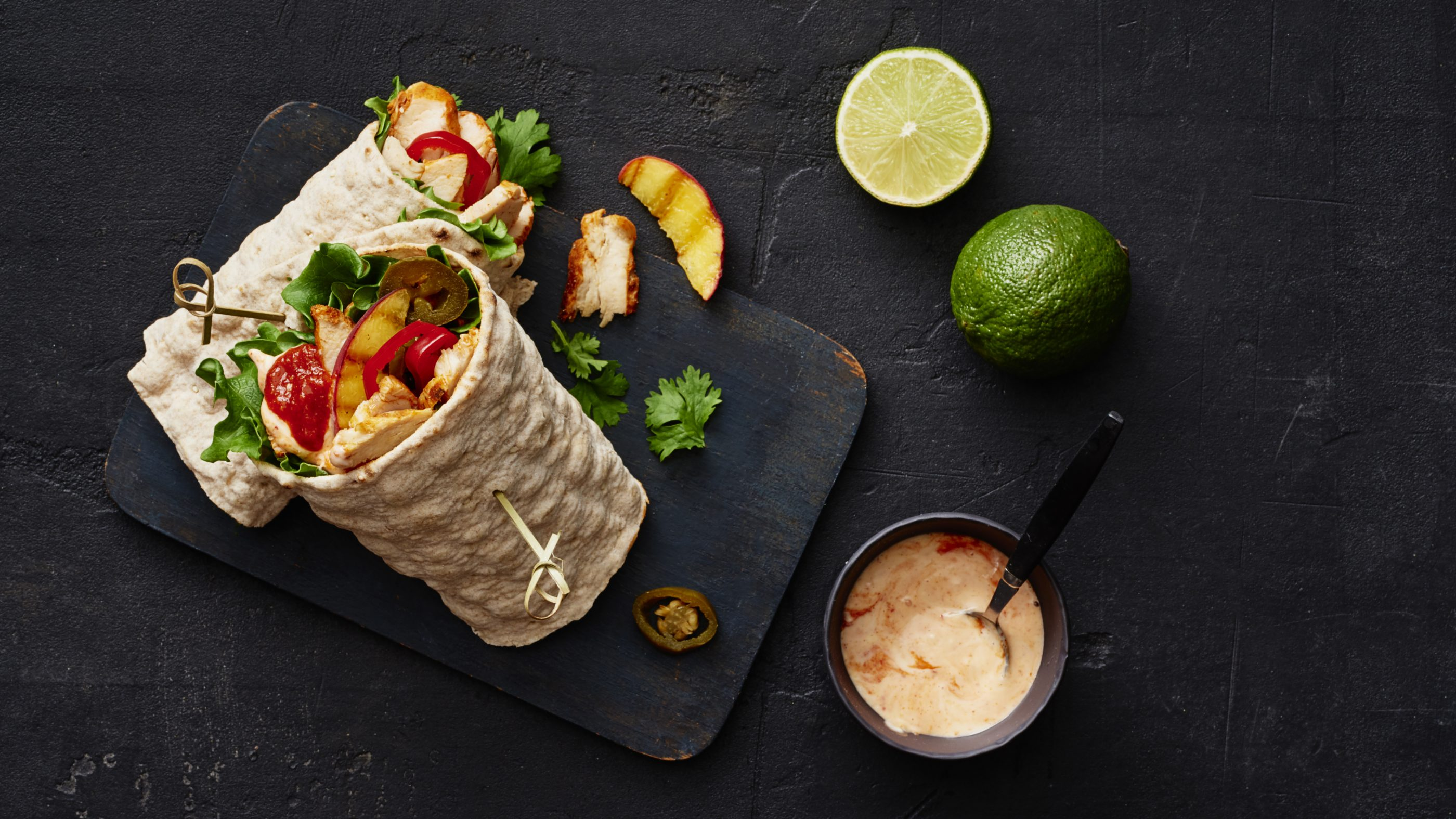 Helppo Street food-broilerwrap
