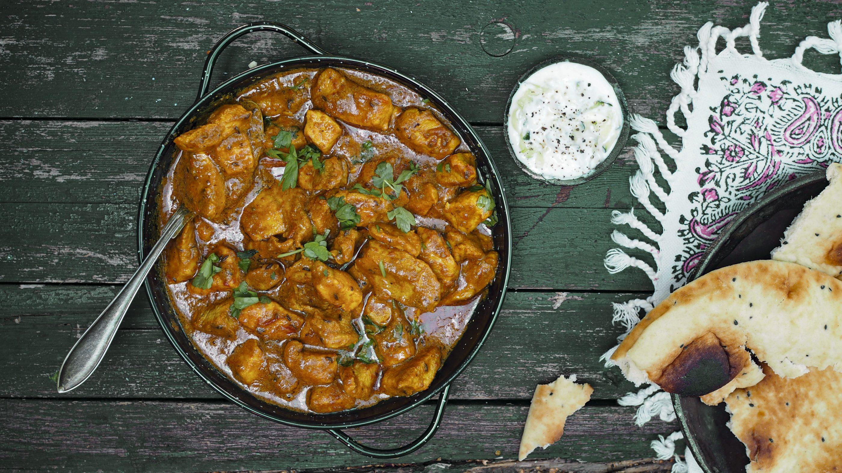 Intialainen Butter Pork