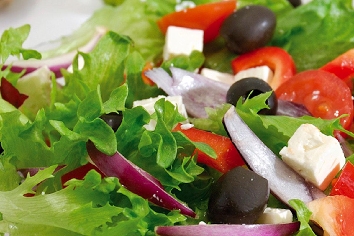 Kreikkalainen salaatti 1