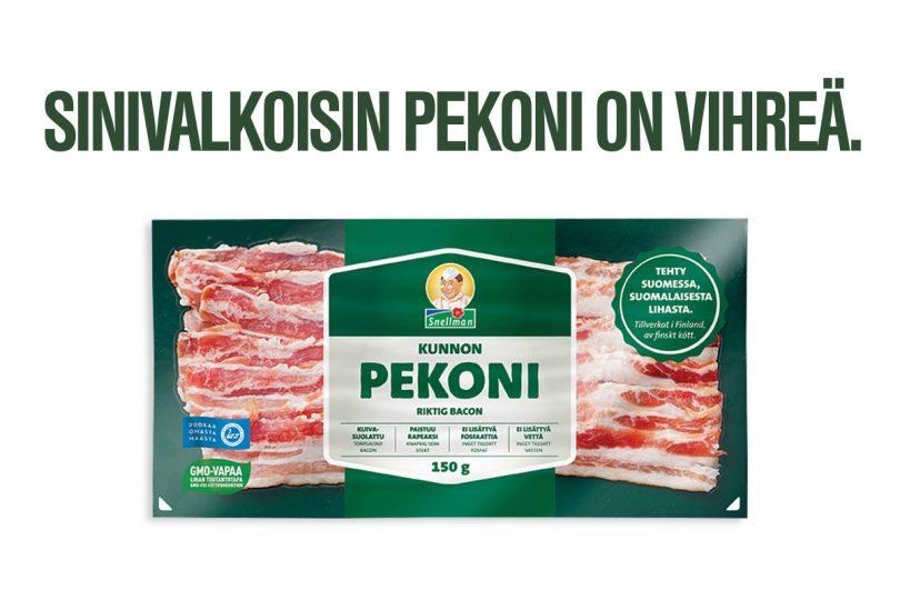 Kunnon pekoni on aidosti suomalainen pekoni 1