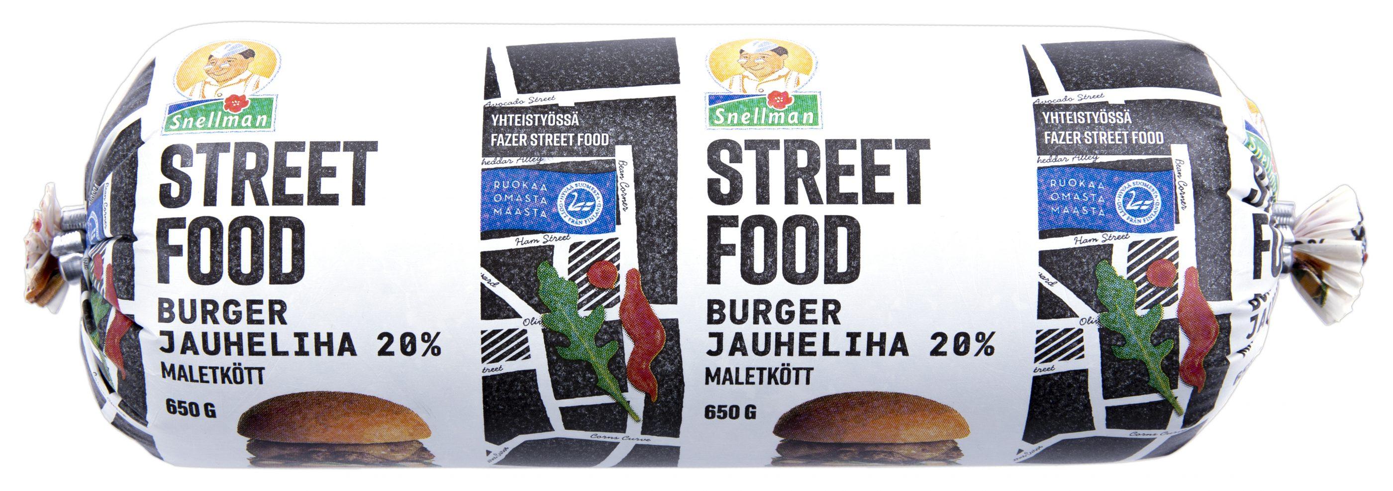 Street Food burgerjauheliha 650 g