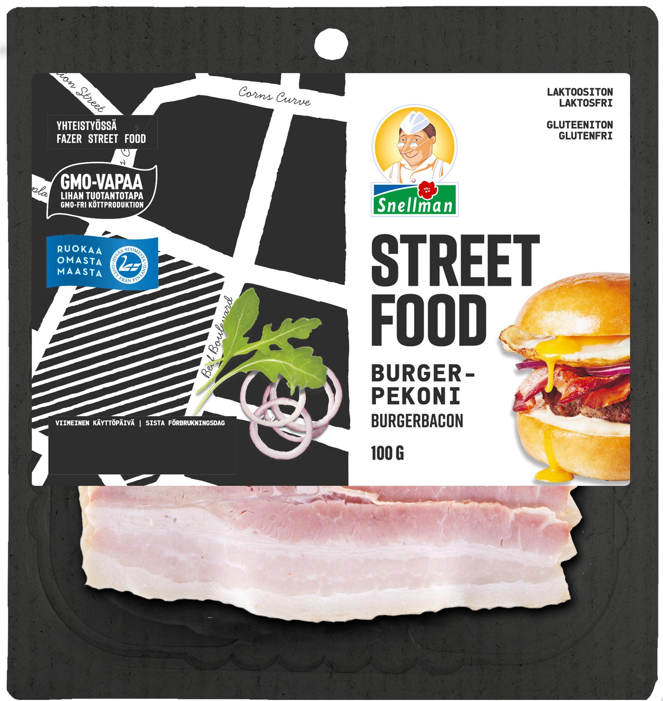 Street Food Burger Pekoni 100 g