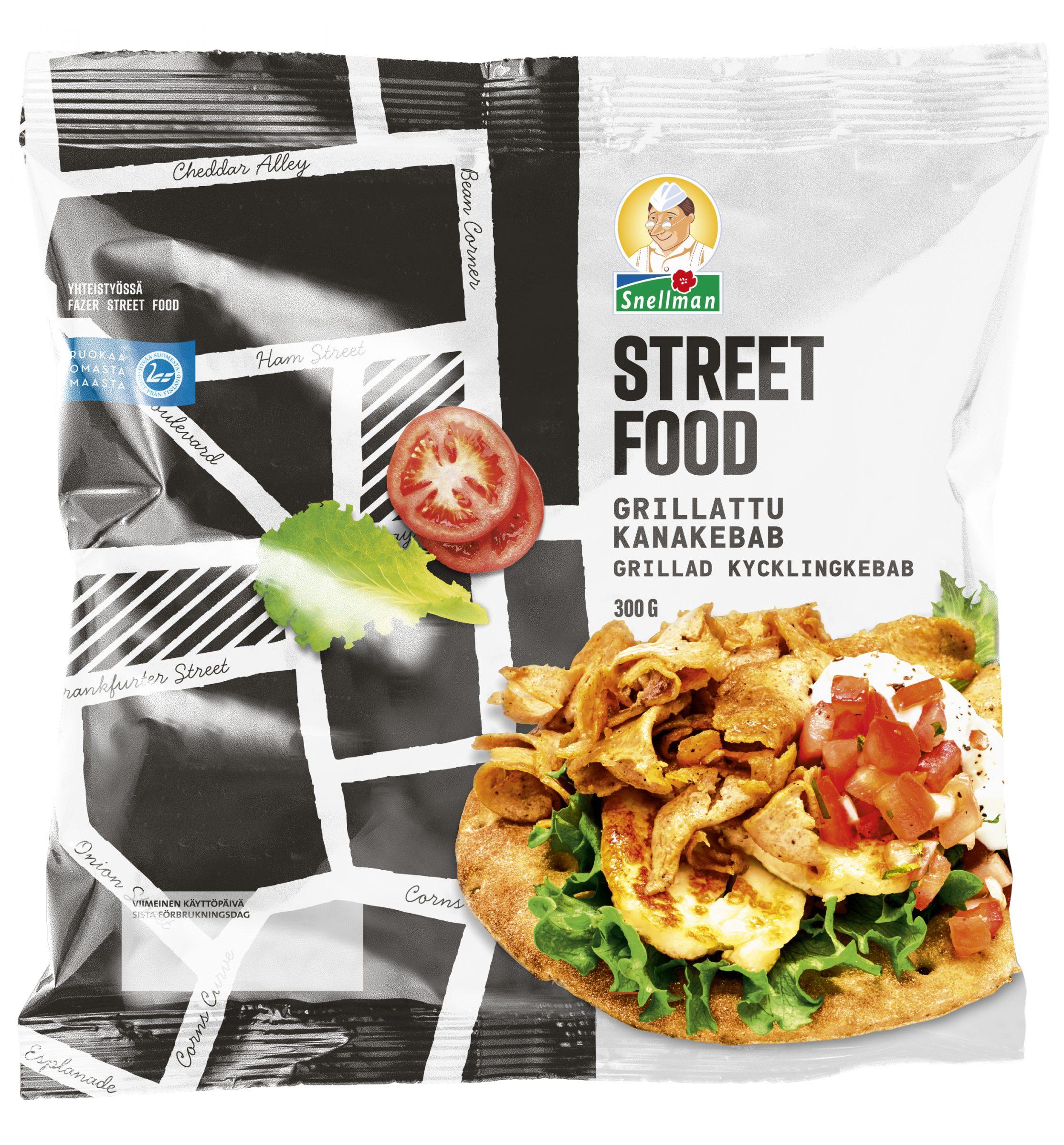 Street Food Grillattu kanakebab 300 g