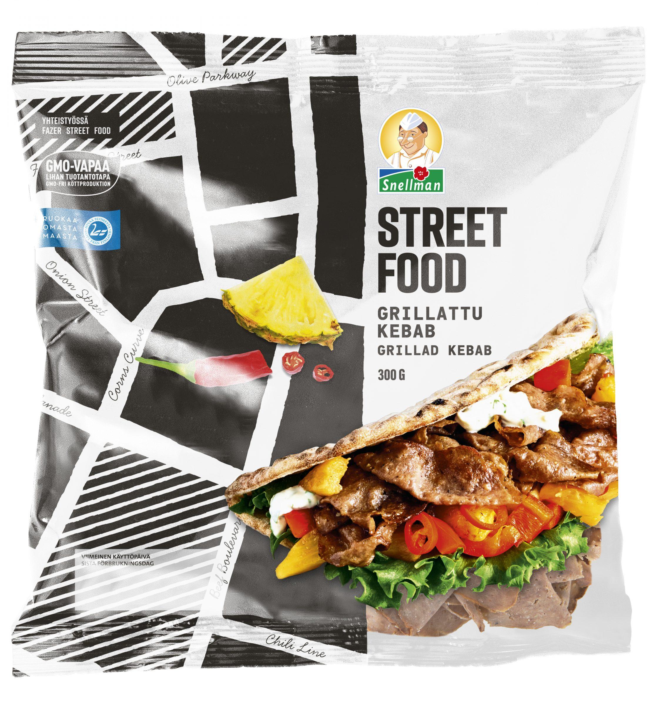 Street Food Grillattu kebab 300 g