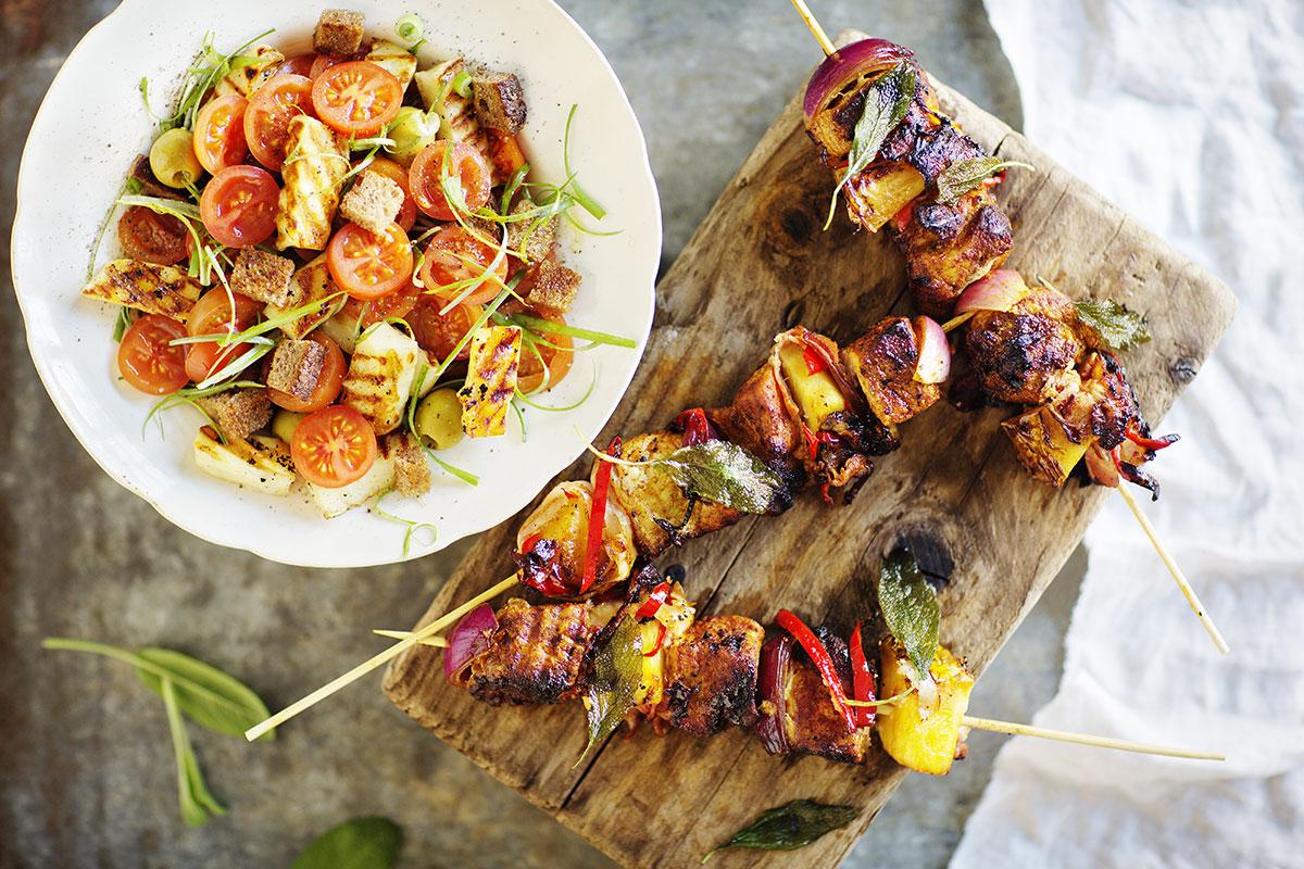 Lomalla on lupa nauttia - 15 helppoa kesäruokaa, jotka vievät kielen mennessään