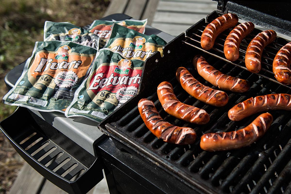 Mikä grillimakkara ilman lisättyä fosfaattia?