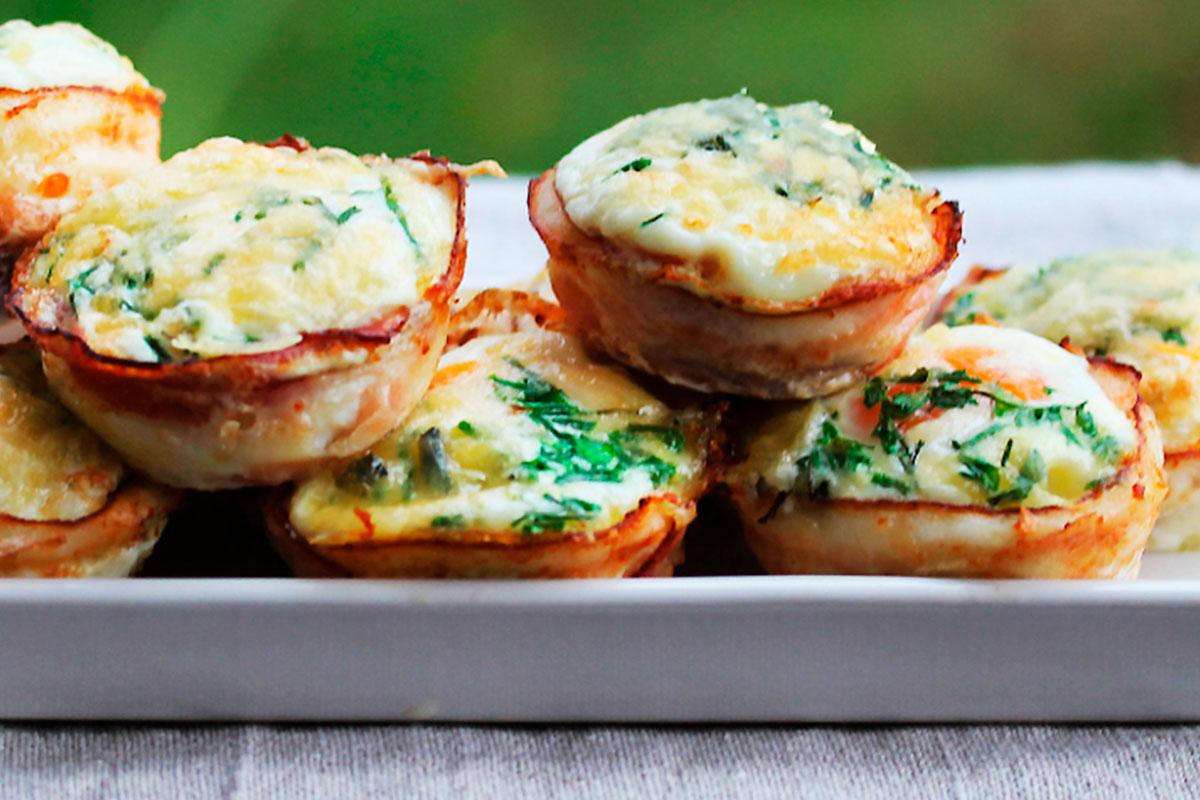 Baconlindade ägg