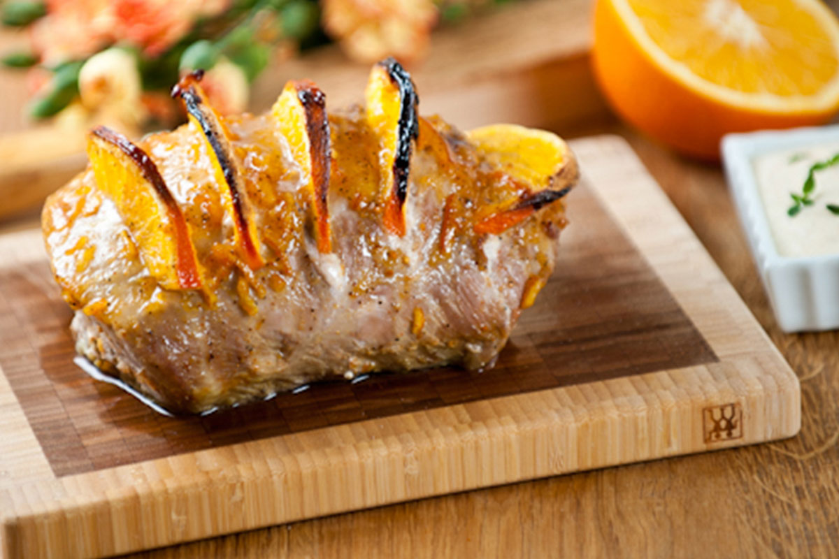 Porsaan uunifilee appelsiinihunnulla 1