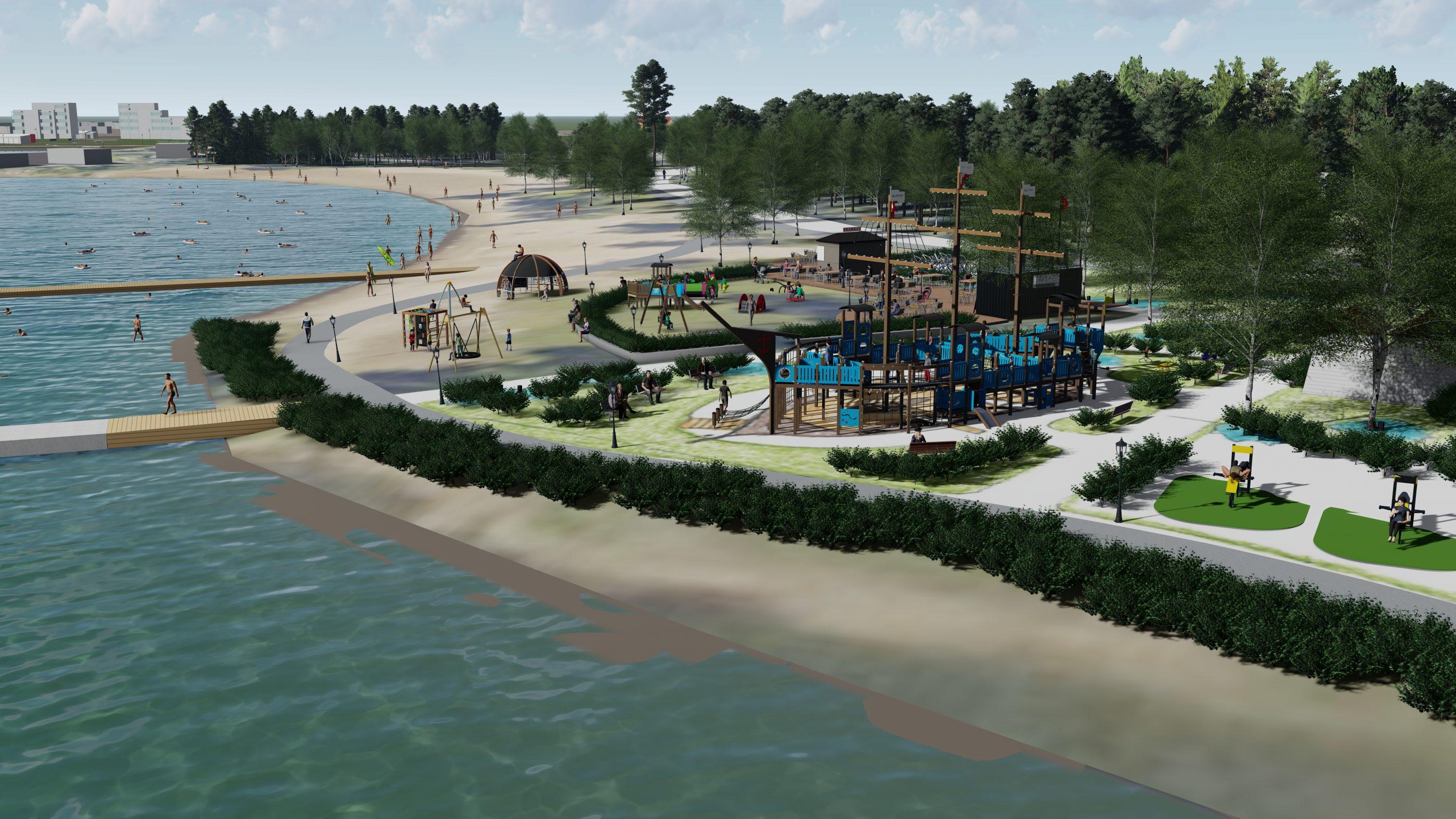Snellman lahjoittaa Pietarsaareen leikki- ja liikuntapuiston 70-vuotisjuhlansa kunniaksi