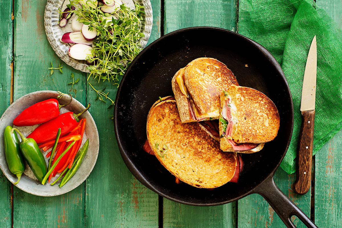Savustajan quesadilla sandwich