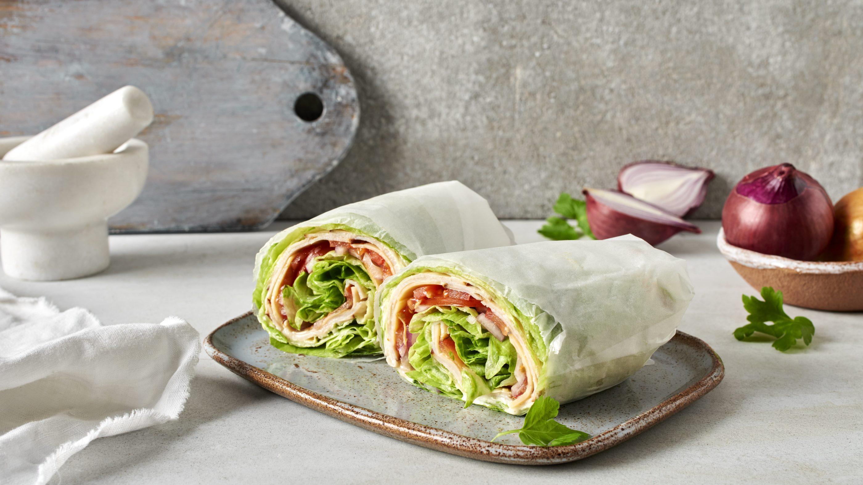 Salaattiwrap