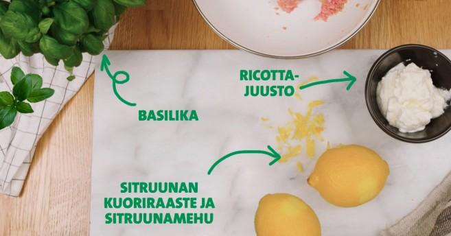 sitruunaiset lihapullat