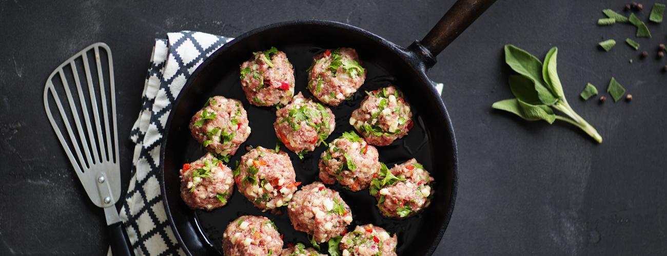 Sju sätt att få ny smak i köttbullarna