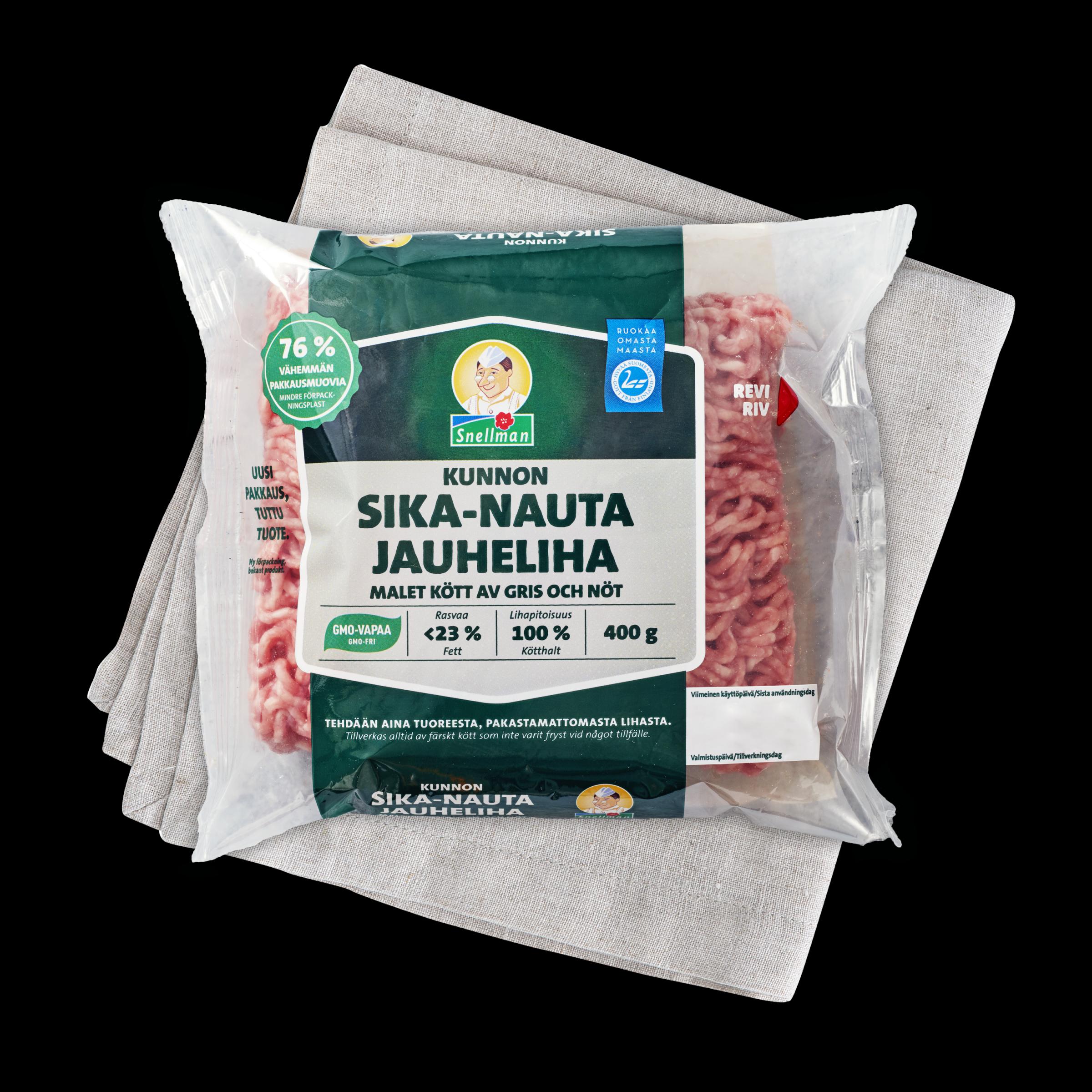 Malet kött av gris och nöt 1
