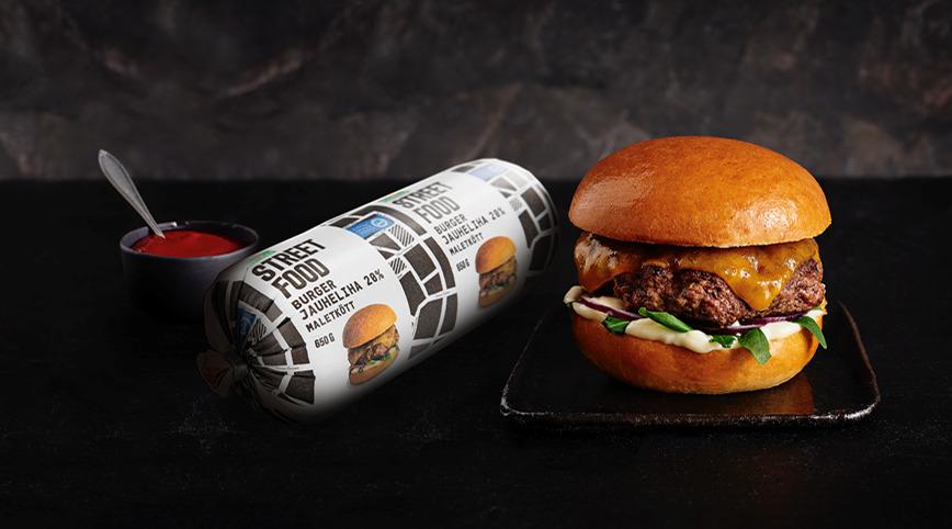 Hampurilainen & Street Food burgerjauheliha