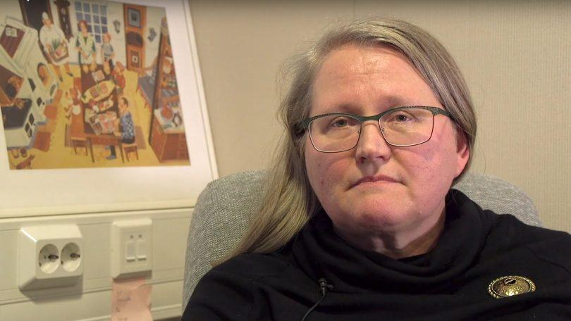 Kehityspäällikkö Kirsi Partanen Snellmanilta.