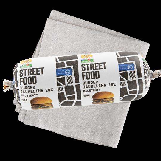 Street food burgerjauheliha 1