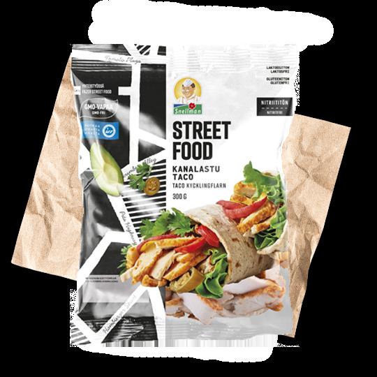 Street Food kanalastu taco 1