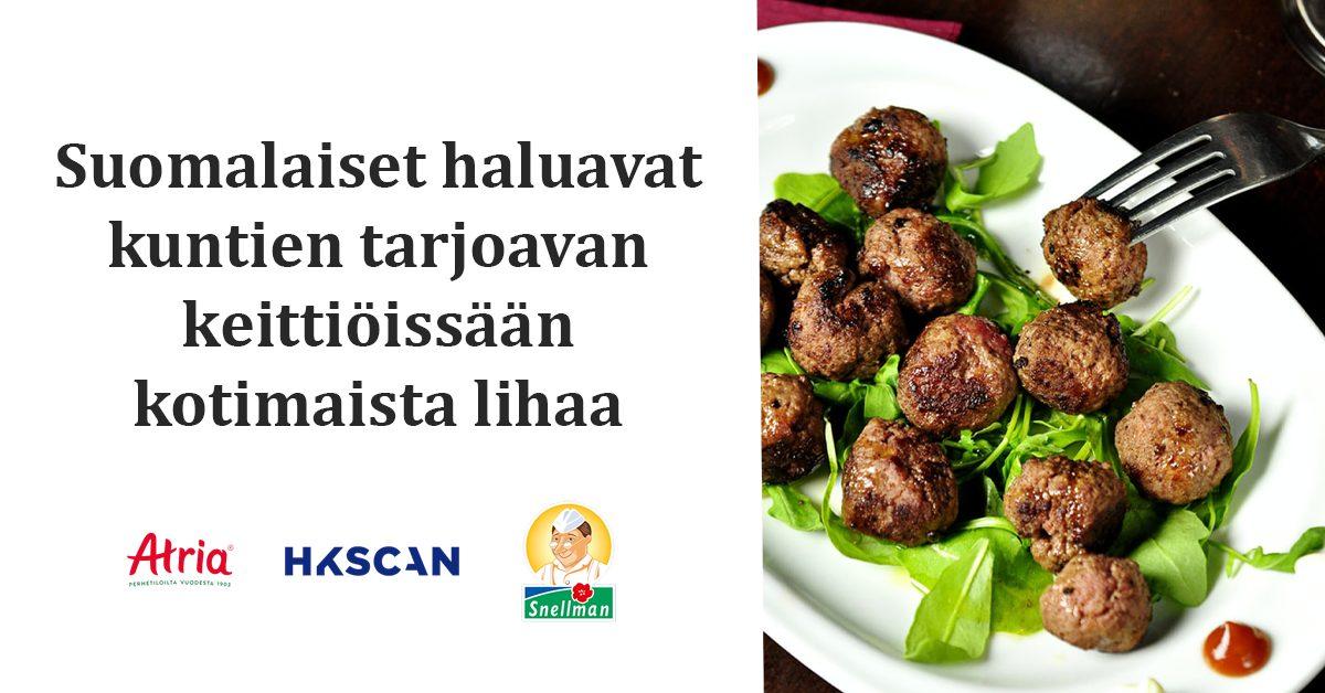 Suomalaiset suosivat kotimaisia raaka-aineita ja monipuolista sekaruokaa