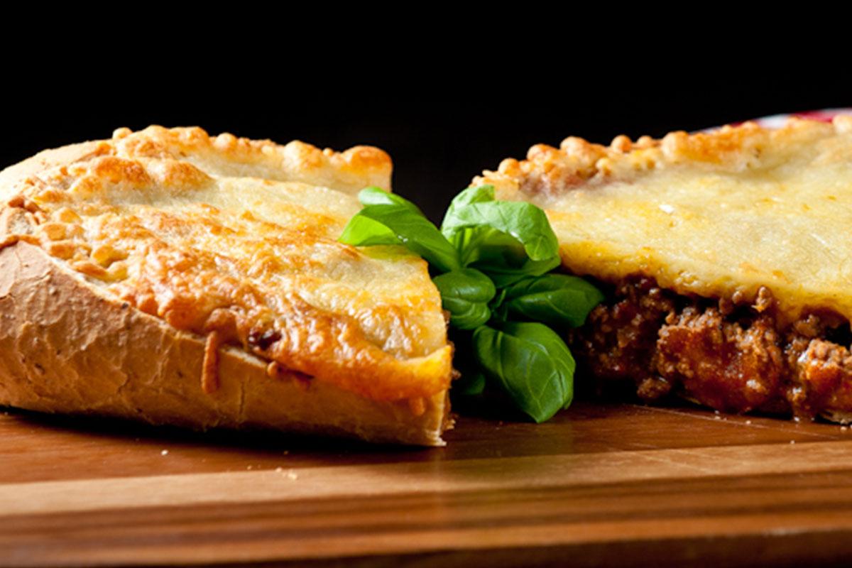 Täytetty ranskanleipä 1