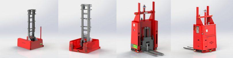 Högteknologisk lösning hittades i hemknutarna – Solving och Snellman slöt avtal om förarlösa truckar 2